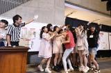 16期生18人ユニット「16えんぴChu!」代表の田屋美咲が勝利した瞬間(C)AKS