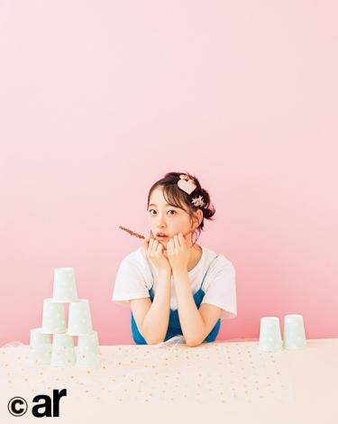 『ar』9月号に登場する乃木坂46・堀未央奈