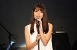 女優で歌手の水谷果穂が自身初のワンマンライブで13曲熱唱
