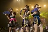 NMB48がタイで初のアジアツアーをスタート(左から白間美瑠、山本彩、太田夢莉)(C)NMB48