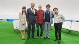 元日本代表監督でブラジルが生んだスーパースター、ジーコ(中央)、テレビ東京『FOOT×BRAIN』初登場。8月20日・27日の2週にわたって放送(C)テレビ東京
