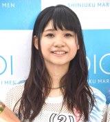 デビューシングル「Sun!×3/二の足Dancing」のリリースイベントに登場したアップアップガールズ(2)の橋村理子 (C)ORICON NewS inc.
