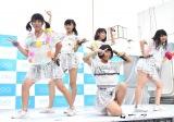 アップアップガールズ(2)のデビューシングル「Sun!×3/二の足Dancing」リリースイベントの模様 (C)ORICON NewS inc.