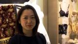 8月22日放送、関西テレビ・フジテレビ系『7RULES(セブンルール)』ランジェリーデザイナー・栗原菜緒さんに密着(C)関西テレビ