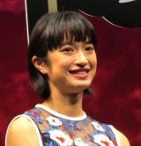映画『ナミヤ雑貨店の奇蹟』完成披露試写会に参加した門脇麦 (C)ORICON NewS inc.