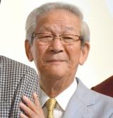 NHK土曜ドラマ『植木等とのぼせもん』の会見に出席した小松政夫 (C)ORICON NewS inc.