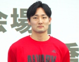 「B.LEAGUE(Bリーグ)」初の公式トーナメント戦『KANTO EARLY CUP』の記者会見に出席した田中大貴選手 (C)ORICON NewS inc.
