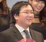 Netflixオリジナル映画『Death Note/デスノート』のジャパンプレミアに参加したマシ・オカ氏 (C)ORICON NewS inc.