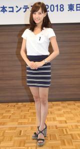 『第50回ミス日本コンテスト2018』の東日本地区代表に決定した高橋茉莉さん (C)ORICON NewS inc.
