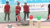 『NHK学生ロボコン2017〜ABUアジア・太平洋ロボコン代表選考会〜』で準優勝した東京大学チーム(写真提供:NHK)