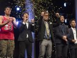 『お笑いバイアスロン2017』リップ・サービスが大会4連覇を達成(C)QAB琉球朝日放送