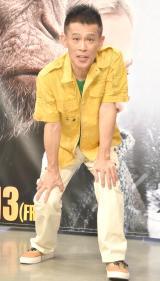 映画『猿の惑星:聖戦記(グレート・ウォー)』のアフレコイベントに出席した柳沢慎吾 (C)ORICON NewS inc.