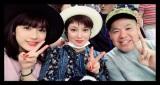 『W杯アジア最終予選』を観戦した平愛梨(中央)