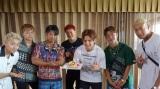 片寄涼太の誕生日をサプライズでお祝いしたGENERATIONSメンバー