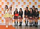 阿部マリアがグループ移籍を発表した瞬間(C)TPE