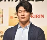 『KIRIN 新・一番搾り』CM発表会に出席した鈴木亮平 (C)ORICON NewS inc.