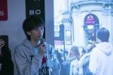 写真集『超特急×ロンドン ロンドンからも愛をこめて』の発売記念イベントを行った超特急・リョウガ