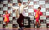 『ご飯がススム キムチ』新TV CM発表会に出席した横山だいすけ (C)ORICON NewS inc.