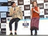 (左から)ますだおかだ・岡田圭右、西川史子 (C)ORICON NewS inc.