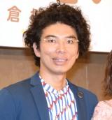 舞台『誰か席に着いて』の製作発表会見に出席した片桐仁 (C)ORICON NewS inc.