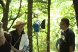 映画『銀魂』撮影の模様 (C)空知英秋/集英社(C)2017「銀魂」製作委員会