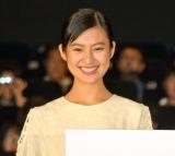 映画『散歩する侵略者』公開初日舞台あいさつに登壇した恒松祐里 (C)ORICON NewS inc.