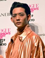 『VOGUE FASHION'S NIGHT OUT 2017』オープニングセレモニーに出演した竜星涼 (C)ORICON NewS inc.