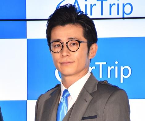 総合旅行プラットフォーム『AirTrip』イメージキャラクター就任発表会に出席したオリエンタルラジオ・藤森慎吾 (C)ORICON NewS inc.