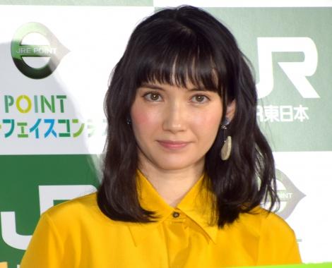 『JRE POINT カードフェイスコンテスト』の入選作品発表会に出席した市川紗椰 (C)ORICON NewS inc.