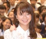 国士舘中学校高等学校の全校集会にサプライズで登場した多部未華子 (C)ORICON NewS inc.