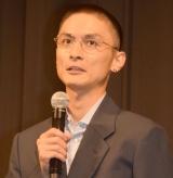 丸刈り姿で登壇した高良健吾 (C)ORICON NewS inc.