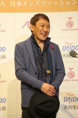 『2017年 第15回グッドエイジャー賞』授賞式に出席した重永忠