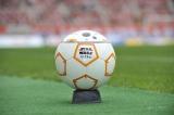 """アルビレックス新潟のチームカラー""""オレンジ""""と同じ、オレンジが象徴的なドロイド「BB-8」をイメージした記念ボール"""