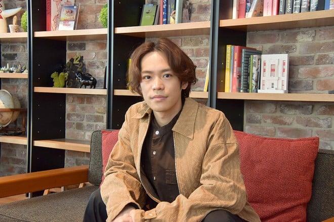 インタビューを受ける小野賢章 (C)oricon ME inc.
