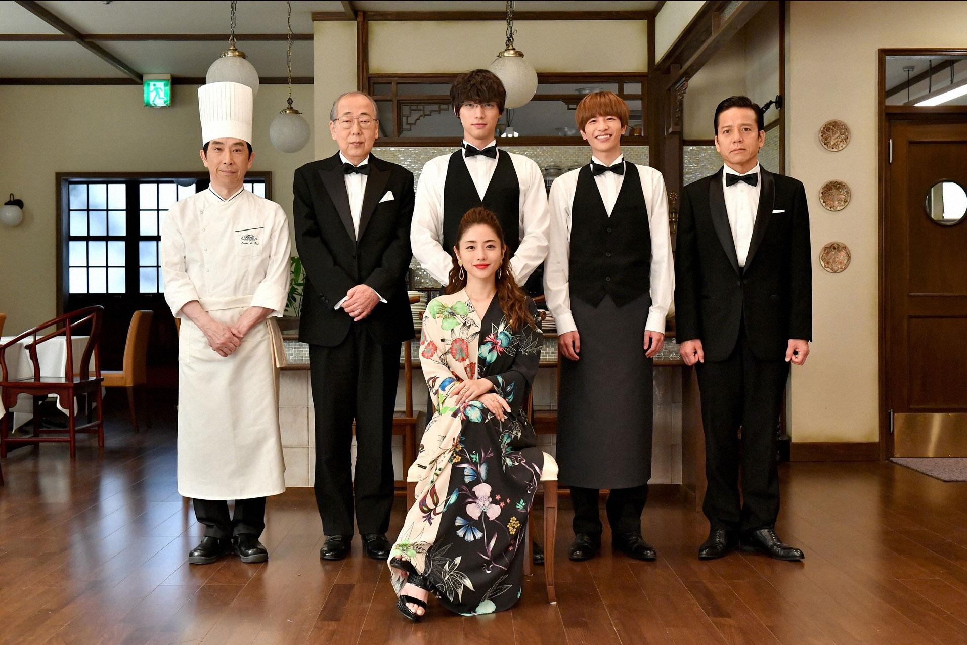 火曜ドラマ『Heaven?〜ご苦楽レストラン〜』|主演:石原さとみ