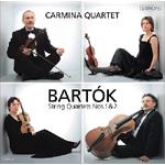 バルトーク:弦楽四重奏曲第1番,第2番