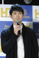 DVD発売記念イベントに登場した三浦春馬