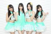 SKE48の(左から)木崎ゆりあ、松井玲奈、松井珠理奈、須田亜香里  撮影:鈴木健太
