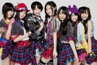 SKE48の(左から)金子栞、矢神久美、松井玲奈、松井珠理奈、木崎ゆりあ、木本花音、須田亜香里