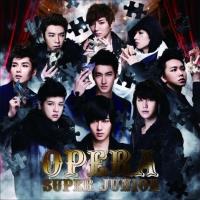 SUPER JUNIORのシングル「Opera」【通常盤】