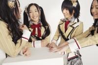 SKE48の(左から)高柳明音、石田安奈、中西優香  (撮影:原田宗孝)