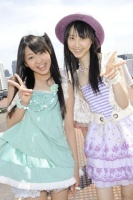 SKE48(左から)木崎ゆりあ、松井玲奈  (撮影:原田宗孝)