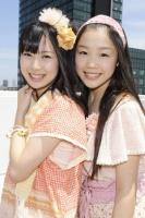 SKE48(左から)高柳明音、石田安奈  (撮影:原田宗孝)