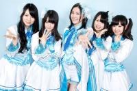 SKE48の松井珠理奈(左から)3番目