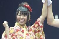『24thシングル選抜じゃんけん大会』に参加したAKB48の北原里英 (写真:鈴木一なり)