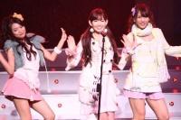 AKB48の(左から)北原里英、小嶋陽菜、高城亜樹