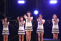 西武ドームでお披露目されたHKT48 AKB48の「スカート、ひらり」を披露