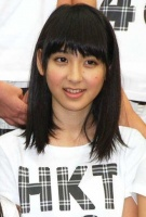 西武ドームでお披露目されたHKT48の松岡菜摘(まつおか なつみ・中3)
