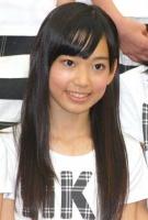 西武ドームでお披露目されたHKT48の宮脇咲良(みやわき さくら・中2)