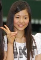西武ドームでお披露目されたHKT48の穴井千尋(あない ちひろ・高1)